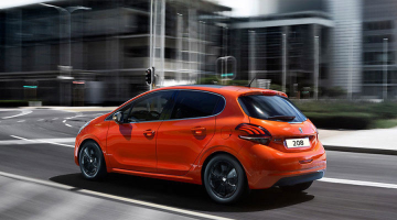 Lateral Peugeot 208