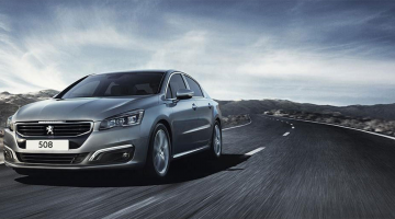 Frontal Peugeot 508