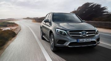Mercedes GLC gris