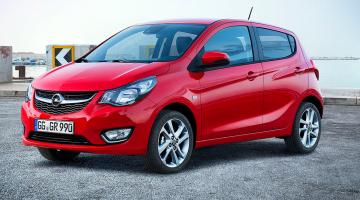 Opel Karl rojo