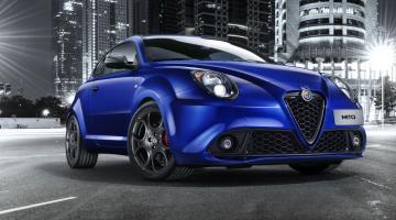 Alfa Romeo Mito azul