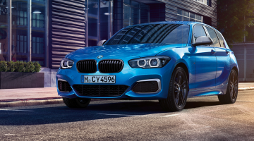 BMW Serie 1 5 puertas azul
