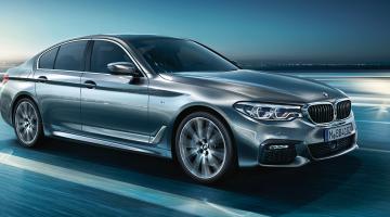 BMW Serie 5 berlina gris