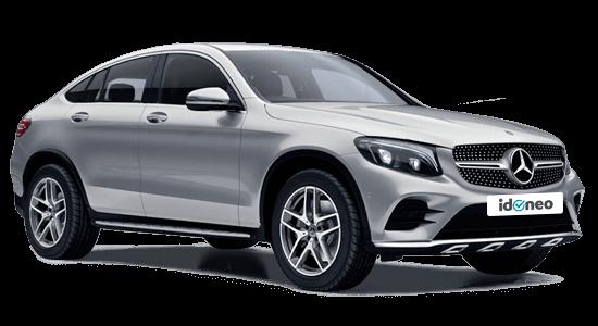 Mercedes Benz GLC Coupe 300 de de renting